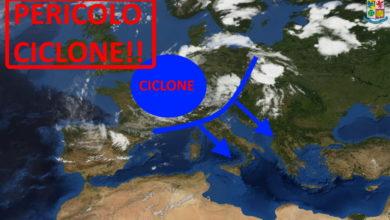 Photo of Meteo: ciclone nel weekend. Italia ATTENZIONE!