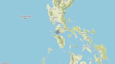 Photo of Terremoto Philippines [Sea] – Magnitudo (ML) 6.7