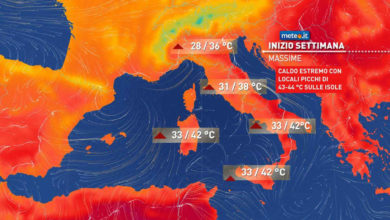 Photo of Meteo di domani: CALDO ESTREMO al SUD.