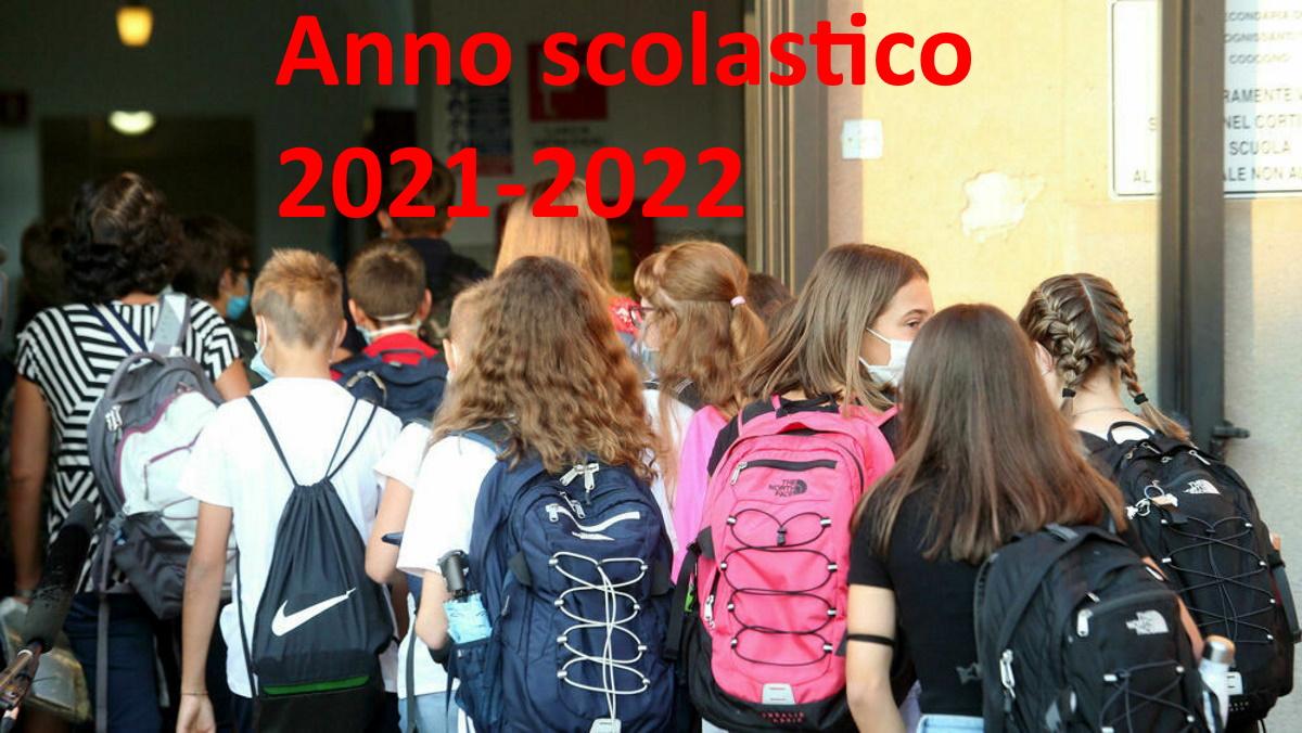 Quando inizia la scuola 2021-2022?