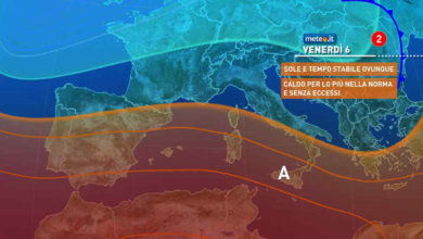 Photo of Meteo di domani: previsioni del tempo