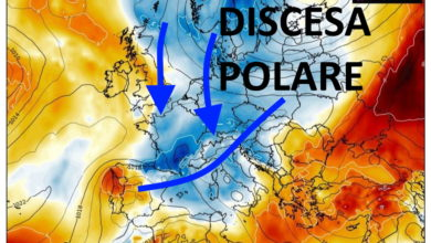 Photo of Meteo: SVOLTA POLARE? 20 gradi in meno