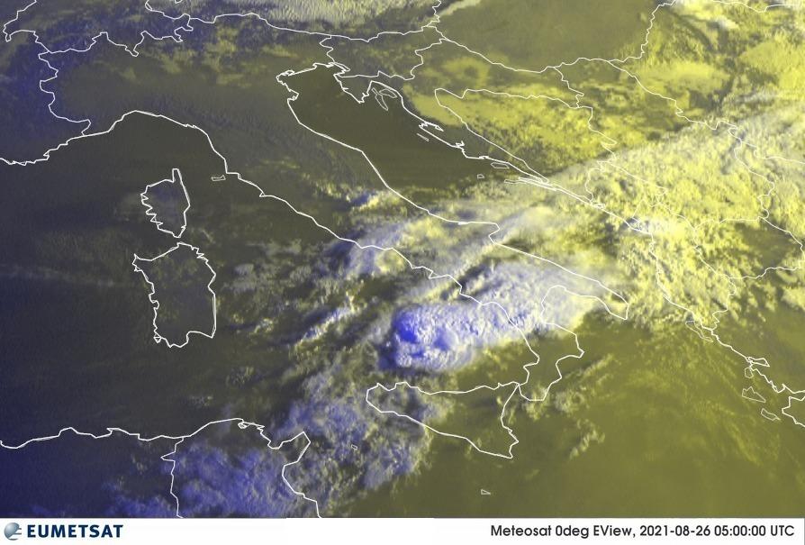 Previsioni Meteo Italia 26-08-2021