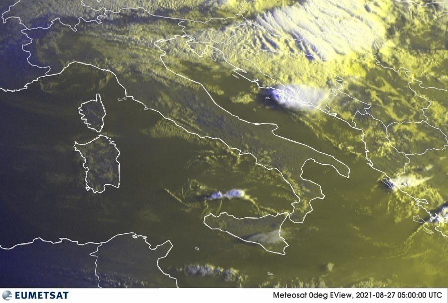 Previsioni Meteo Italia 27-08-2021