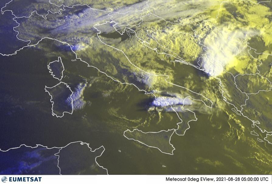 Previsioni Meteo Italia 28-08-2021