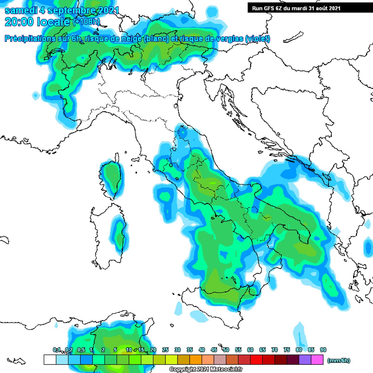Previsioni meteo italia oggi,domani, weekend
