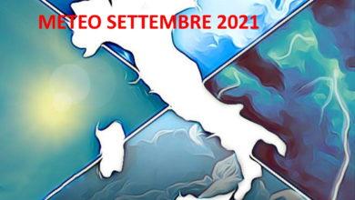 Photo of Meteo: Settembre 2021 autunnale