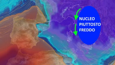 Photo of Meteo: oggi e domani nucleo freddo. Poi migliora?
