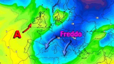 Photo of Meteo: prima ondata di GELO dai modelli stagionali. Tendenza