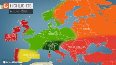 Photo of Meteo: settembre, ottobre e novembre. Previsioni stagionali autunno