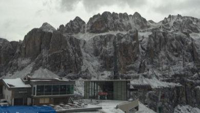 Photo of E' arrivata la prima neve sulle alpi: foto e video