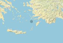 Photo of Terremoto Dodecanese Islands, Greece [Sea: Greece] – Magnitudo (ML) 5.2