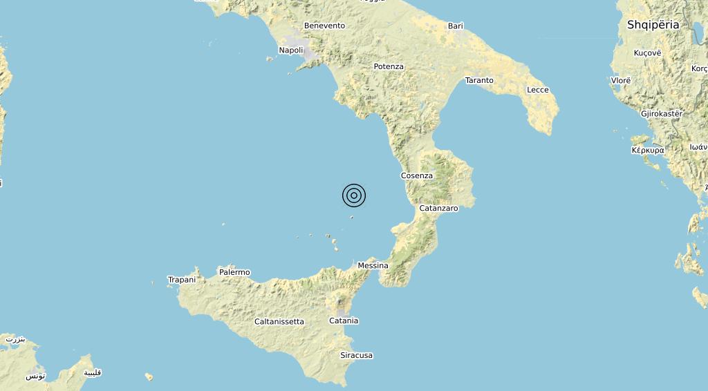 Terremoto 20-08-2021