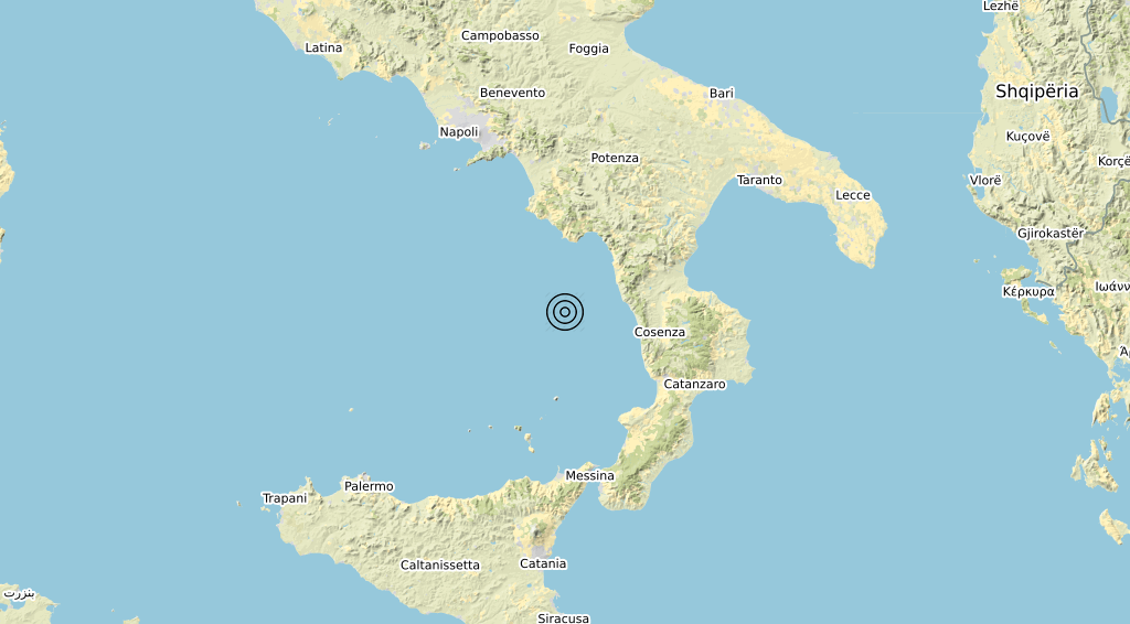 Terremoto 30-08-2021
