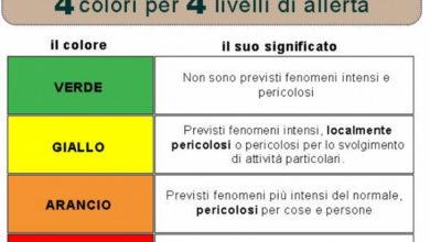 Photo of Allerta protezione civile: meteo che peggiora. Temporali e rovesci