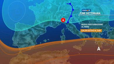 Photo of Previsioni meteo: oggi e domani 18 e 19 settembre