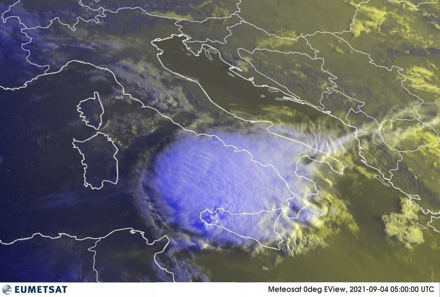 Previsioni Meteo Italia 04-09-2021