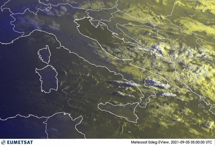 Previsioni Meteo Italia 05-09-2021