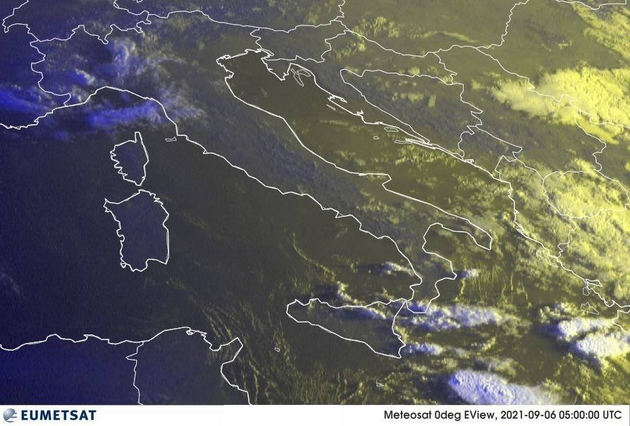Previsioni Meteo Italia 06-09-2021