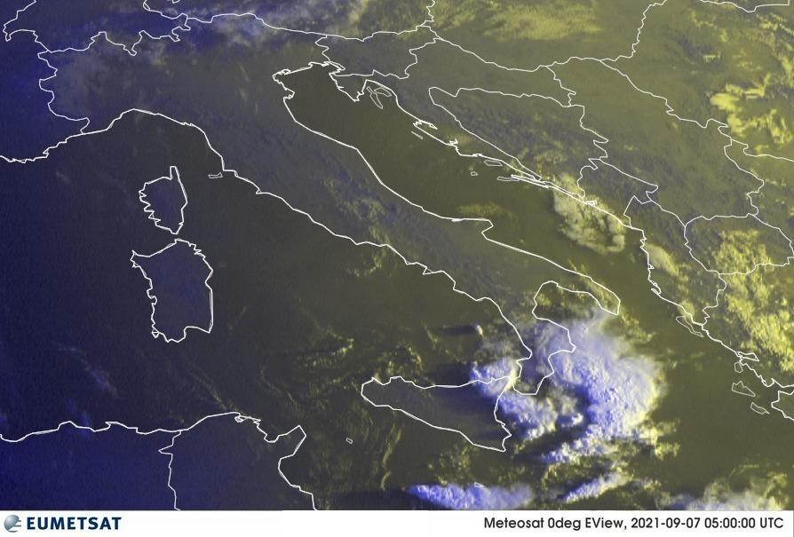Previsioni Meteo Italia 07-09-2021