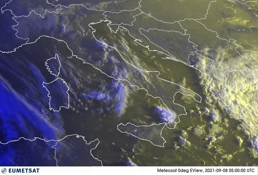 Previsioni Meteo Italia 08-09-2021