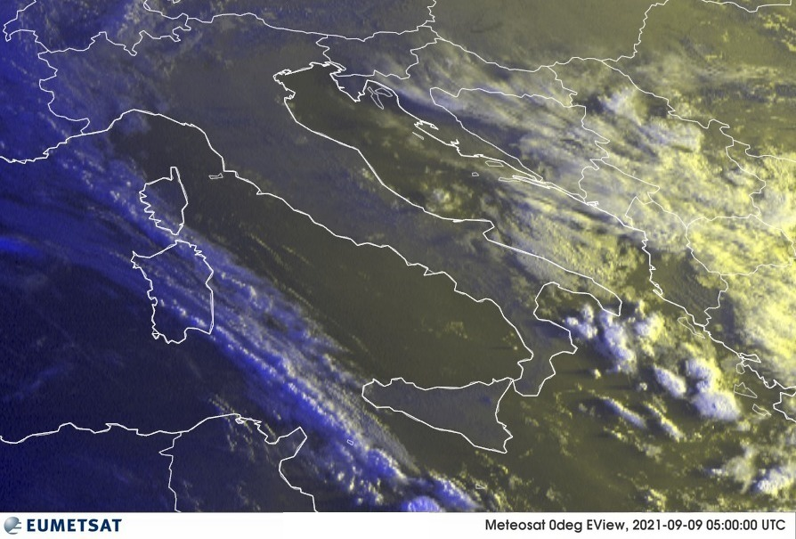 Previsioni Meteo Italia 09-09-2021