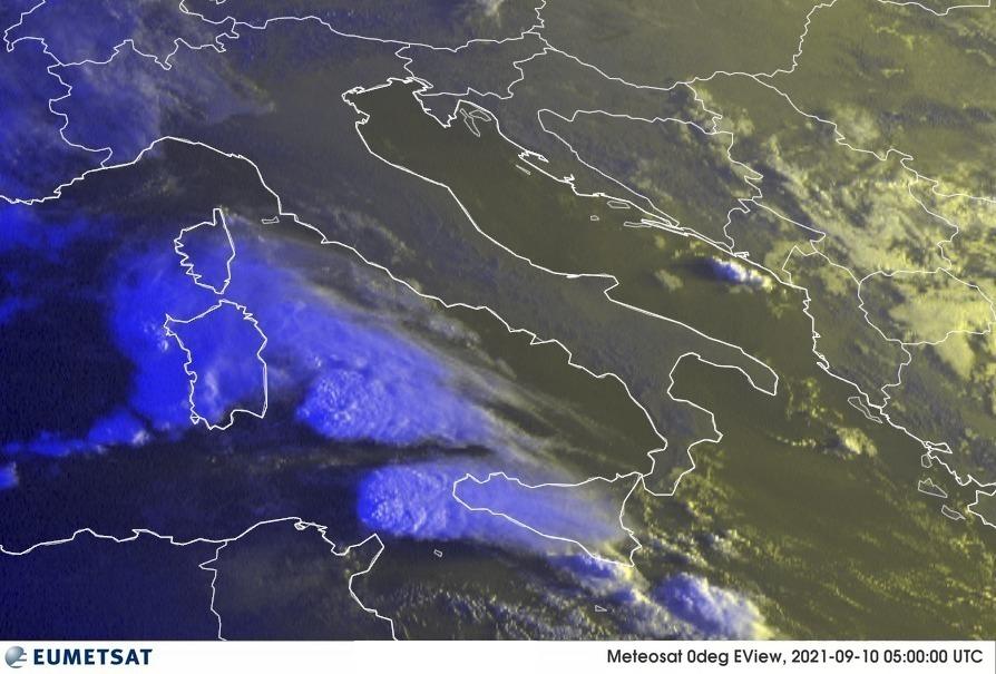 Previsioni Meteo Italia 10-09-2021