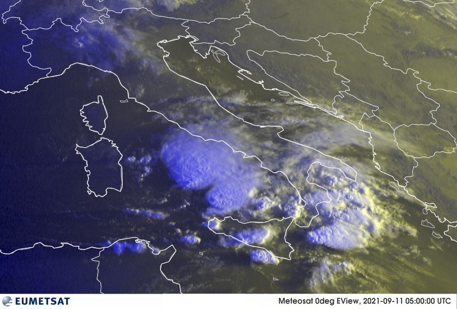 Previsioni Meteo Italia 11-09-2021