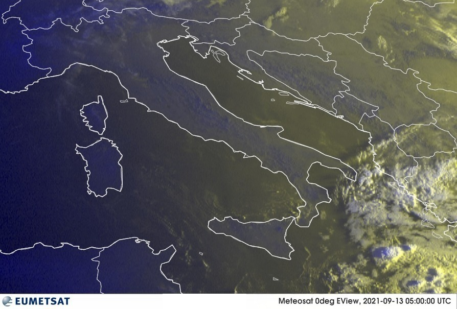 Previsioni Meteo Italia 13-09-2021