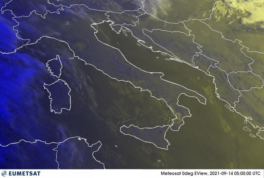 Previsioni Meteo Italia 14-09-2021