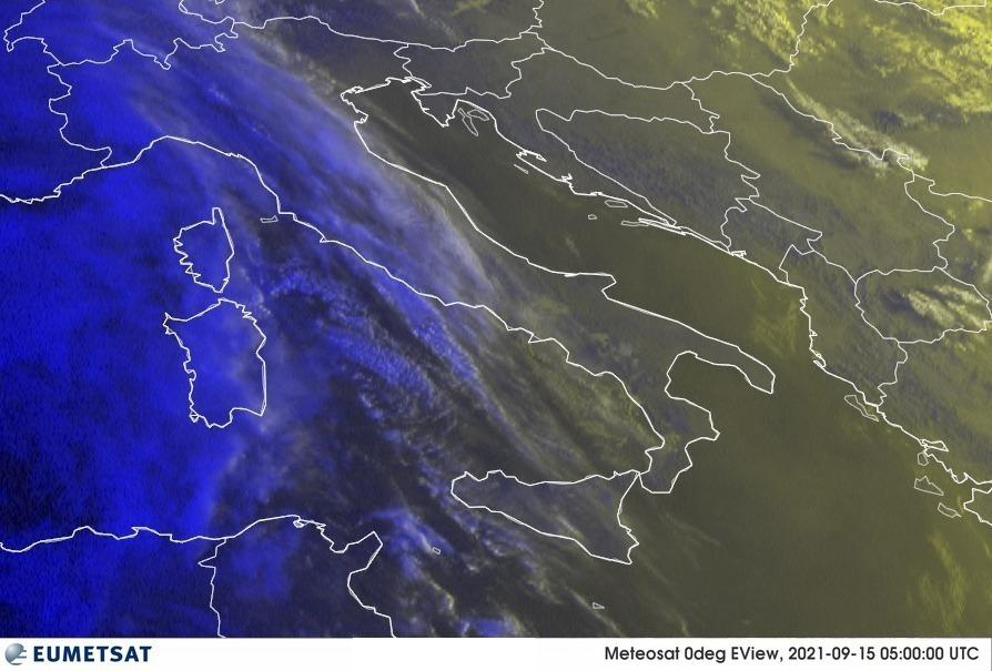 Previsioni Meteo Italia 15-09-2021