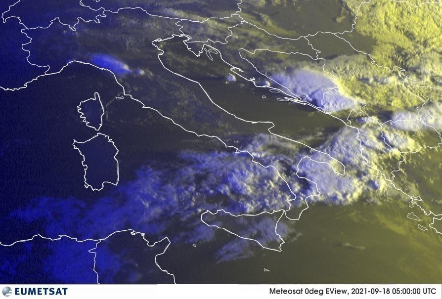 Previsioni Meteo Italia 18-09-2021
