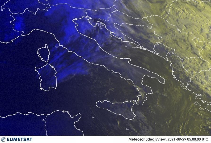 Previsioni Meteo Italia 29-09-2021
