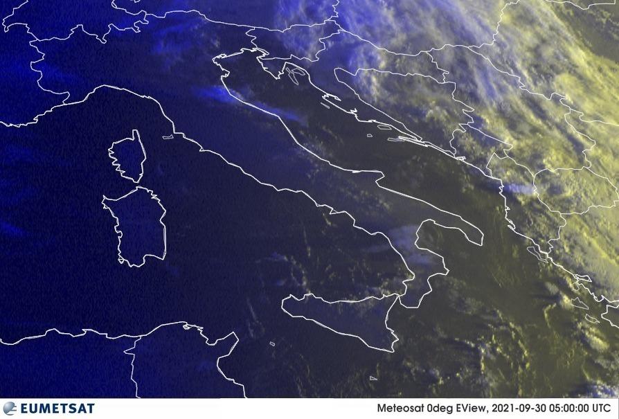 Previsioni Meteo Italia 30-09-2021