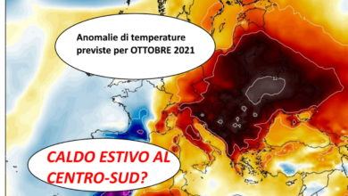 Photo of Il meteo di Ottobre 2021: previsioni del tempo