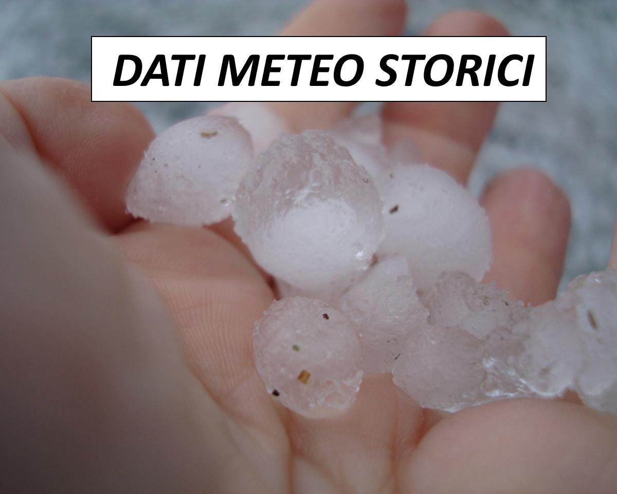 Dati meteo storici. Perizie