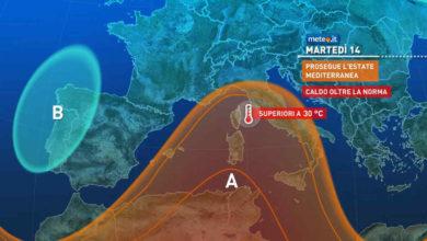 Photo of Previsioni meteo oggi e domani: 14 e 15 settembre