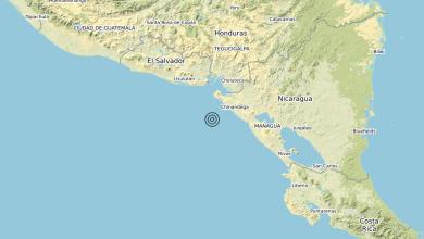 Photo of Terremoto Near coast of Nicaragua [Sea: Nicaragua] – Magnitudo (ML) 6.5