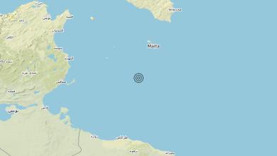 Photo of Terremoto Malta [Sea] – Magnitudo (ML) 3.0