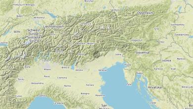 Photo of Terremoto 5 km W Miane (TV) – Magnitudo (ML) 3.6