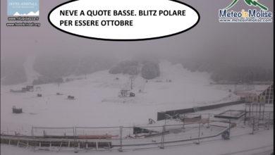Photo of Meteo in diretta: tempeste di NEVE in Appennino (FOTO E WEBCAM)