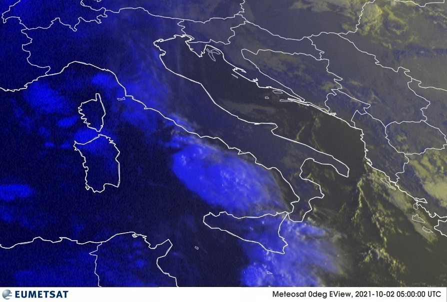 Previsioni Meteo Italia 02-10-2021