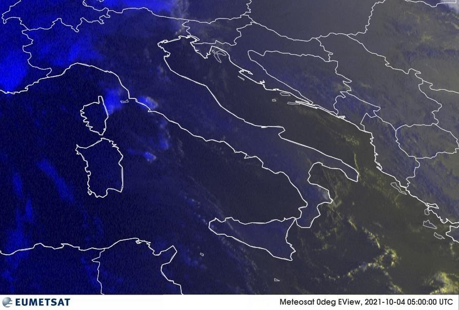 Previsioni Meteo Italia 04-10-2021