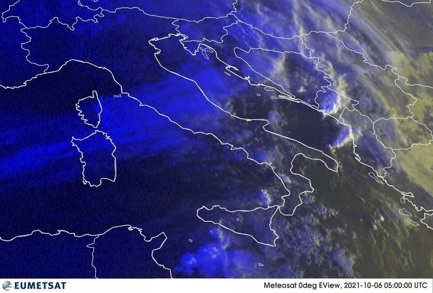 Previsioni Meteo Italia 06-10-2021