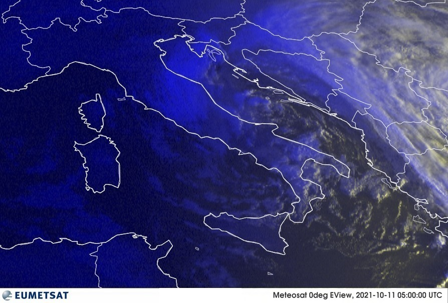 Previsioni Meteo Italia 11-10-2021