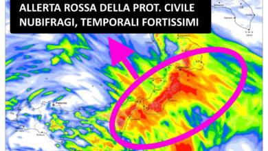 Photo of Meteolive: autunno 2021. Fase piovosa al centro-sud