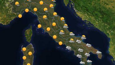 Photo of Previsioni del tempo per domani 14-10-2021