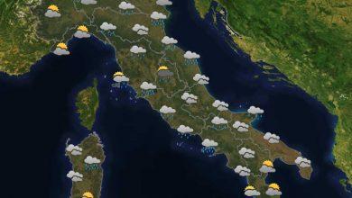 Photo of Previsioni del tempo per domani 22-10-2021