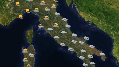 Photo of Previsioni del tempo per domani 23-10-2021