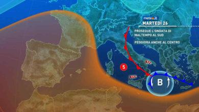 Photo of Previsioni meteo: oggi e domani